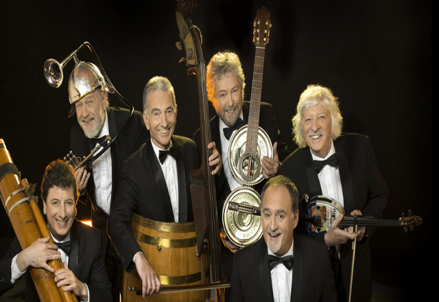 El congreso distinguir al grupo les luthiers por sus 50 for Les luthiers